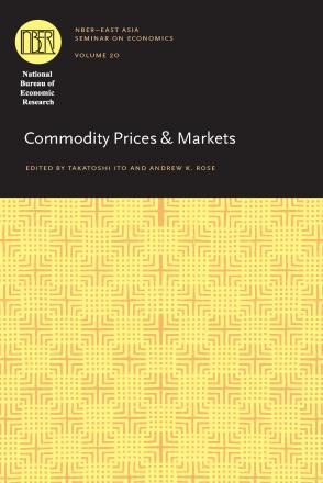 Commodity Prices and Markets