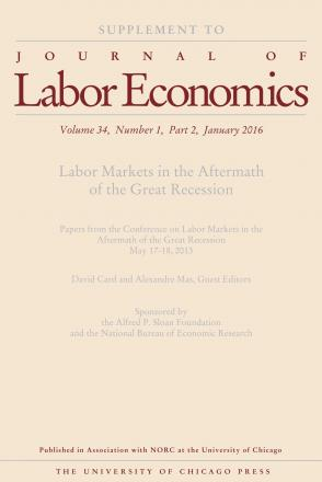 Labor Markets in the Aftermath of the Great Recession