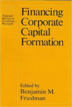 Financing Corporate Capital Formation