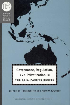 Governance, Regulation, and Privatization in the Asia-Pacific Region
