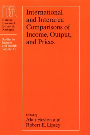 International and Interarea Comparisons of Income, Output, and Prices