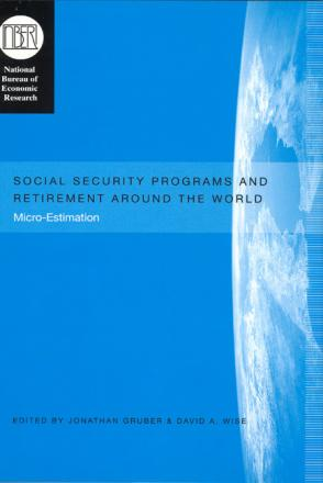 Social Security Programs and Retirement around the World - Micro estimation