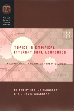 Topics in Empirical International Economics