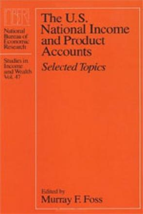 U.S. National Income and Product Accounts
