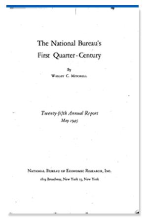 The National Bureau's First Quarter-Century promo image