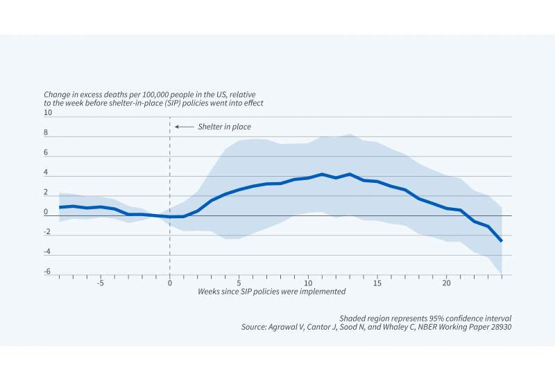 Shelter-in-Place Policies and Excess Mortality Figure